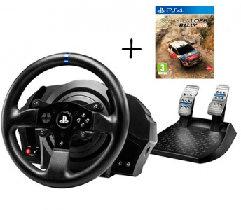 es volantes racing gaming thrustmaster t300 rs s loeb rally evo ps4 Playseat Oficial