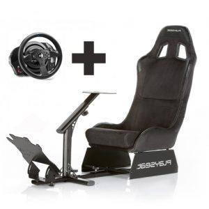 evo alcanatara con volante Playseat Oficial