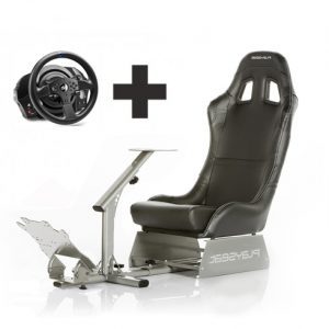 evo black con volante Playseat Oficial