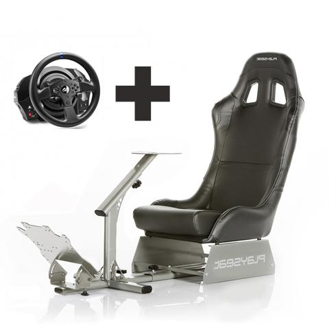 evo black con volante Playseat Oficial