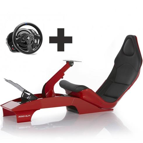 f1 rojo volante Playseat Oficial